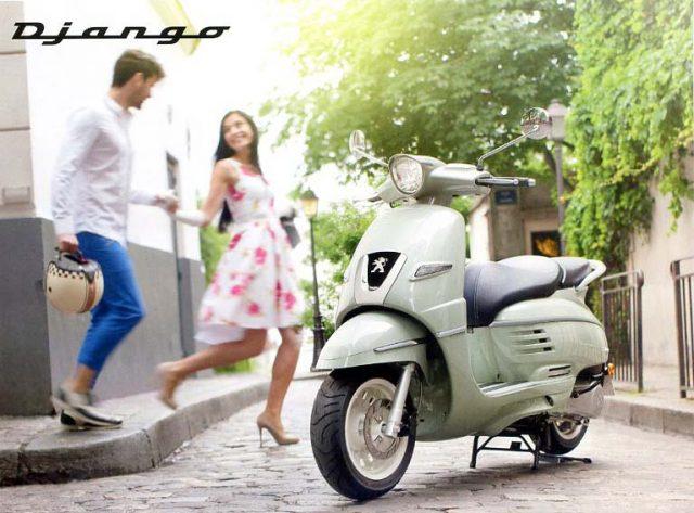 Scooter DJANGO de Peugeot